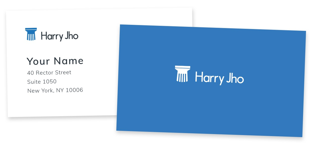 Harry Jho business cards